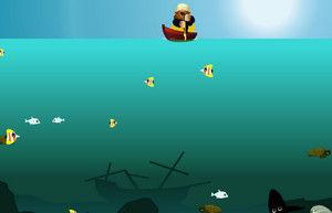 Рыбалка на гарпун игра