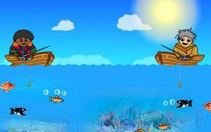 Рыбалка на море для игры вдвоем