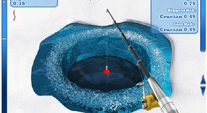 Зимняя рыбалка со льда игра онлайн