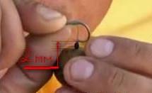 Как сделать волосяную оснастку для ловли карпа на бойлы