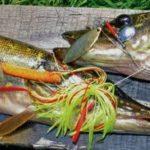 Спиннербейт приманка на хищную рыбу